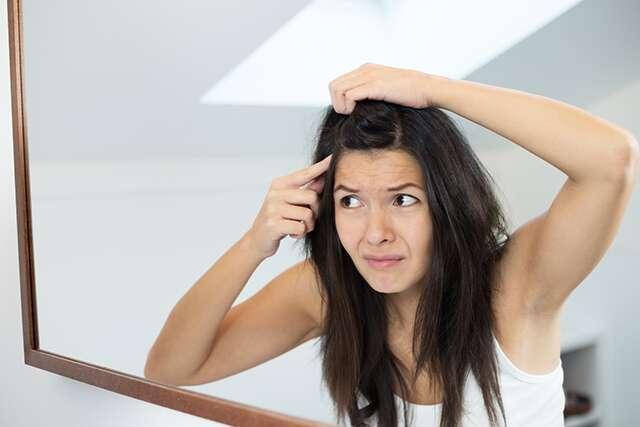 Dry scalp and dandruff