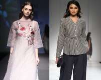 Lightweight handlooms ruled day 3 of AIFW SS18