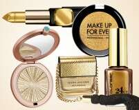 Blazing gold makeup to match your ensemble on Dhanteras