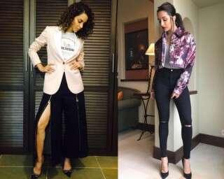 Bollywood divas acing the rock-chic look
