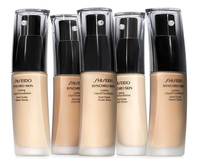 Shiseido SynchroSkin lasting liquid foundation