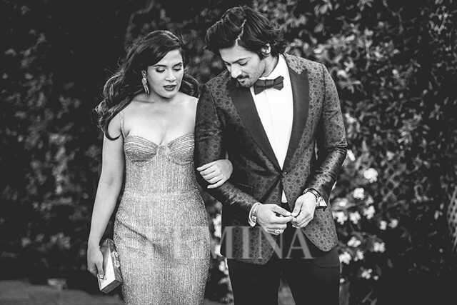 Ali Fazal and Richa