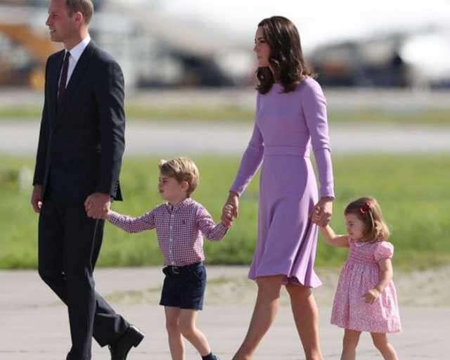Kate Middleton & family