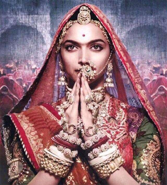 Deepika Padukone looks 'pure royalty' in first poster of 'Padmavati'