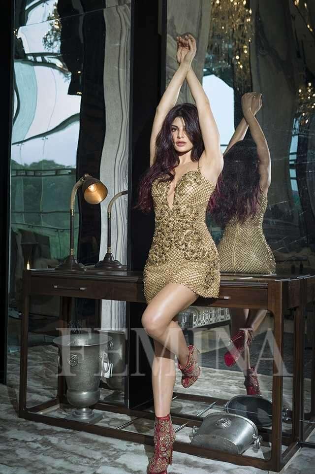 Jacqueline Fernandez on Femina cover
