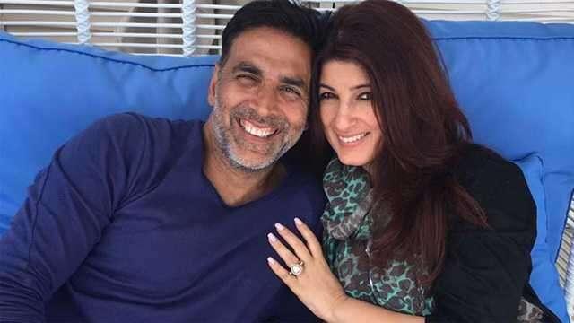 Twinkle & Akshay kumar