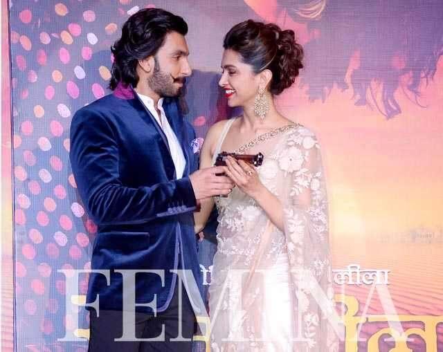 Deepika and Ranveer Singh