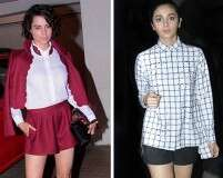 Kangana Ranaut and Alia Bhatt on how to wear shorts