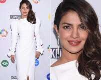 Priyanka Chopra shows us the dressed-up side of white