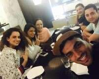 Kangana Ranaut enjoys family dinner after Simran's rave reviews