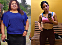 Weight training, functional exercises and low intensity cardio are the secrets behind this girl's 38-kg weight loss