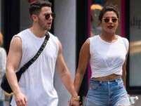 Priyanka Chopra, Nick Jonas walk hand-in-hand at Singapore airport