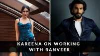 Kareena Kapoor Khan opens up about working with Ranveer Singh