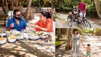 Unseen photos of Saif, Kareena and Taimur in Maldives
