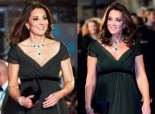 Here's why Kate Middleton didn't wear black at BAFTAs