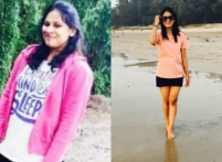 Weight Loss Story: How this girl lost 20 kgs