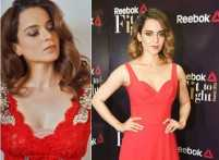 Kangana Ranaut looks every bit hot in red