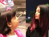 Aaradhya's flying kiss to Aishwarya will steal your heart