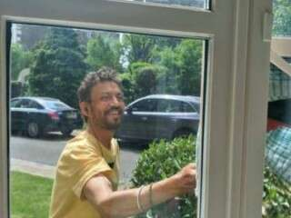 Irrfan Khan shares new pic from London