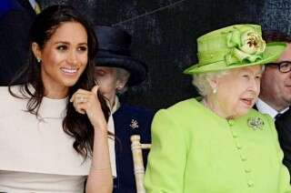 Meghan wears gift from Queen for their Royal event