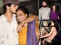 Ishaan Khatter's birthday celebrations with family