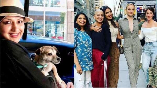 Sonali Bendre thanks Priyanka Chopra for lifting her mood