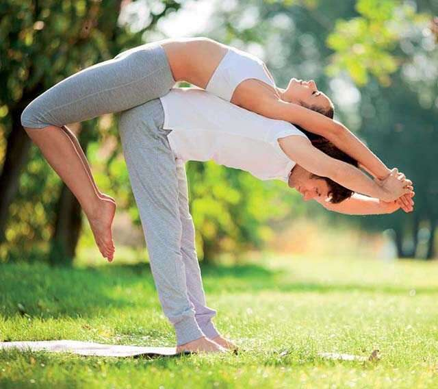 Acro Yoga for health