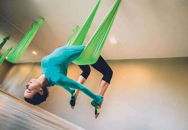 Anti-Gravity Yoga for health