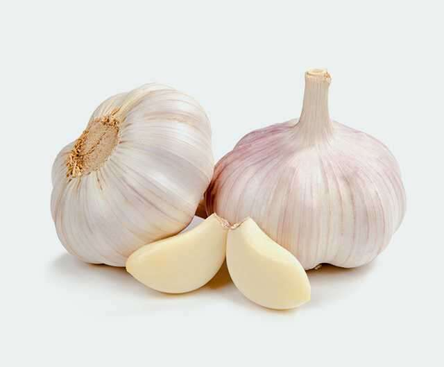 Garlic for skin