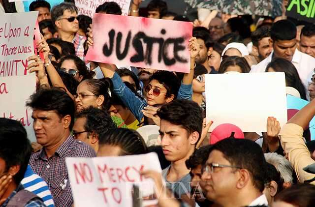 Celebs protest for Kathua and Unnao rape victims
