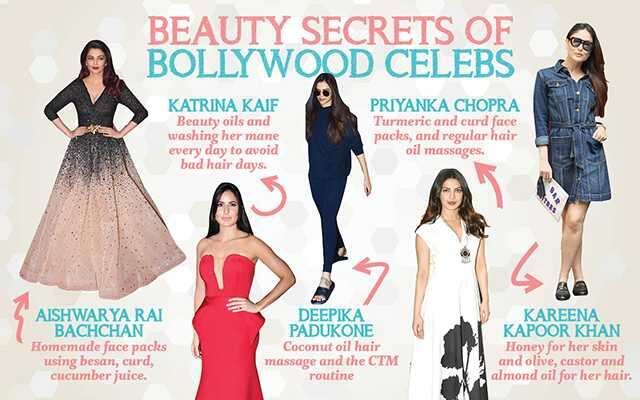 Beauty secrets of Bollywood celebrities