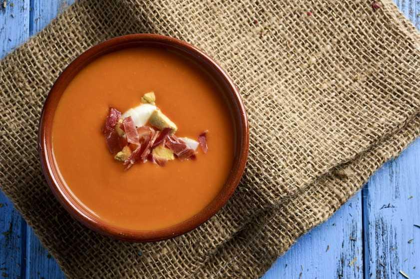Salmorejo-Spanish cold soup