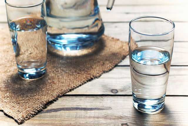 Drink water or find interesting ways to keep hydrated