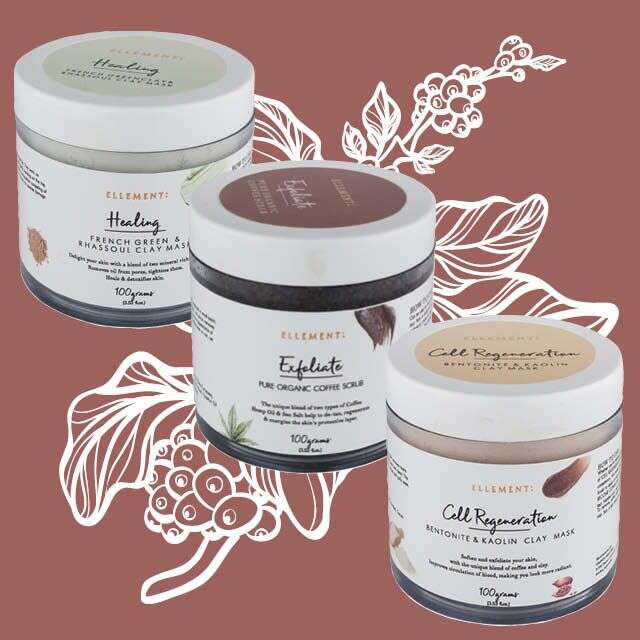 Ellement Co.'s Clay Masks