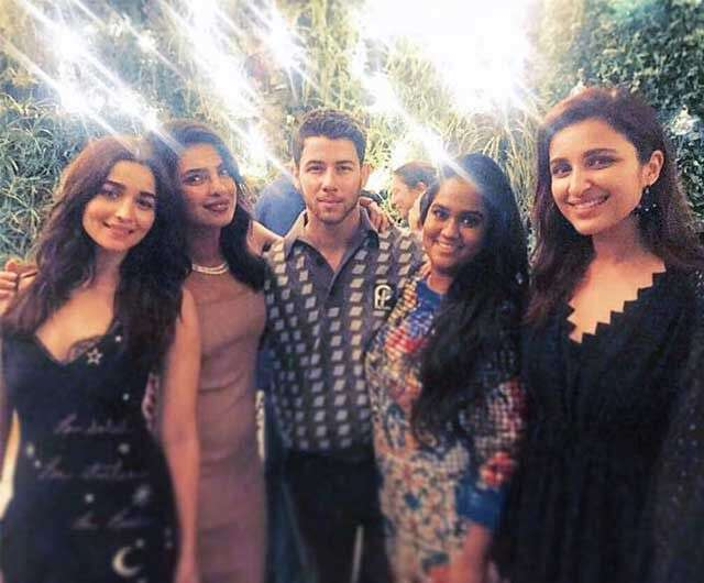 Priyanka Chopra and Nick Jonas' engagement party