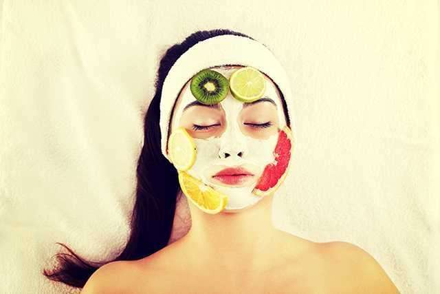 Yoghurt mask to cleanse the skin with Homemade beauty tips