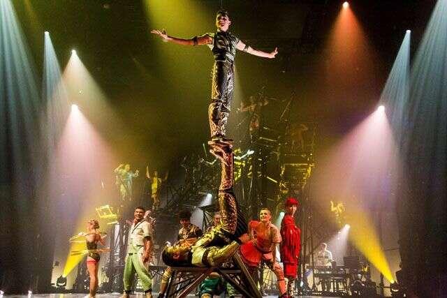 Cirque du Soleil's newest show BAZZAR