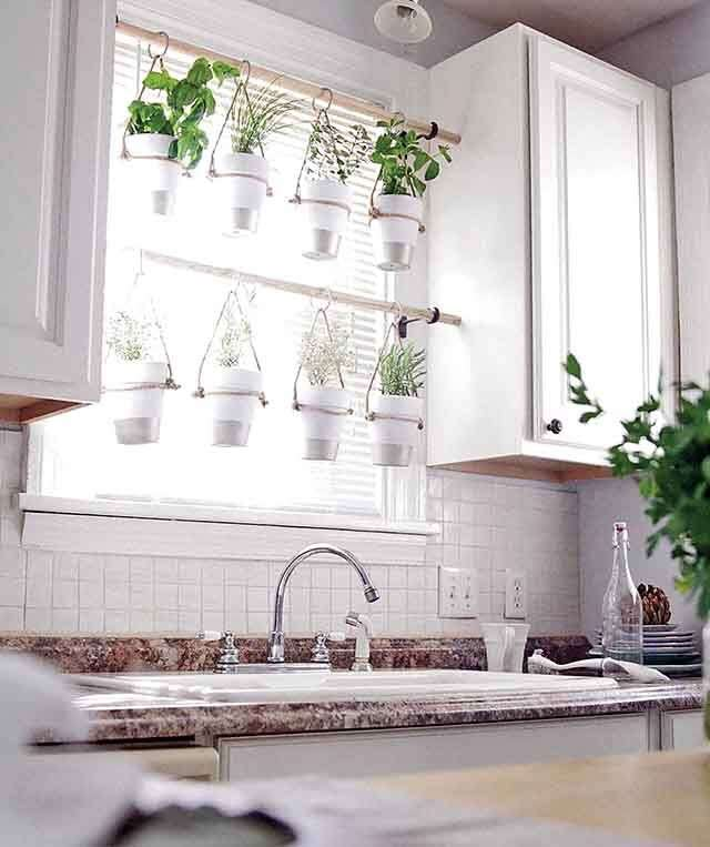 hanging herb garden Decor for improve your home