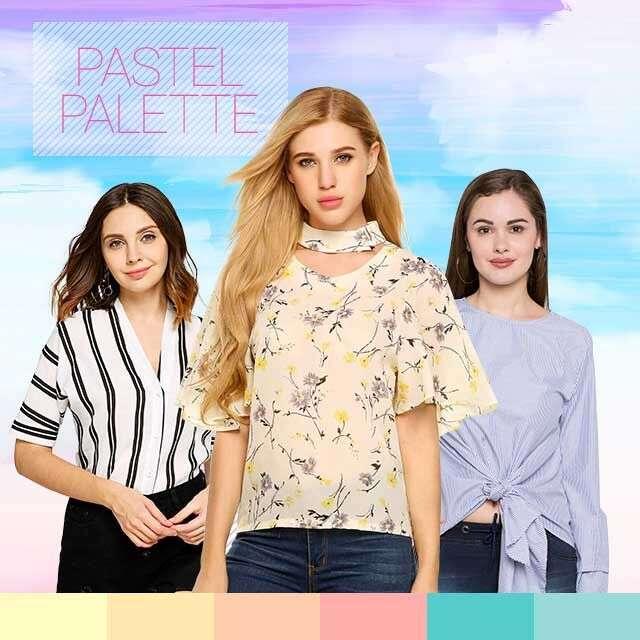 Five ways to wear pastels