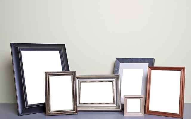 Framed makeup Decor for improve your home
