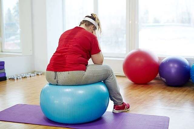 obesity leads to sedentary lifestyle