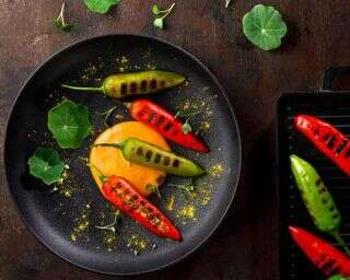 Recipe: Manchego and sweet corn stuffed chillies