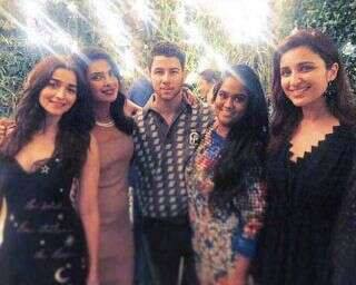 Bollywood celebs at Priyanka Chopra and Nick Jonas' engagement party