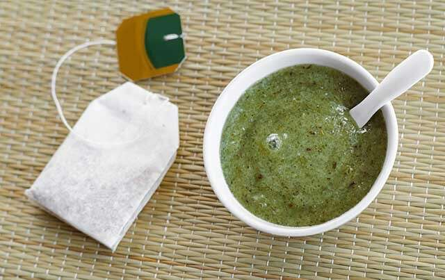 Benefits of Green Tea can also be use as a Rinse