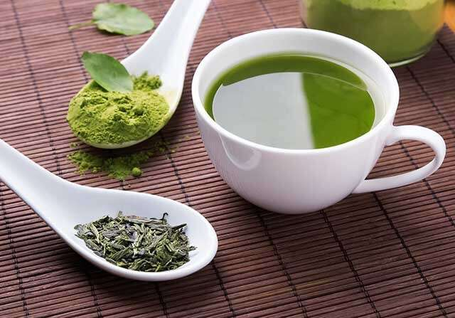 Benefits of Green Tea Contains Catechins which has Antioxidant Properties