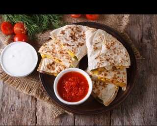 Easy snack recipe - Quesadilla