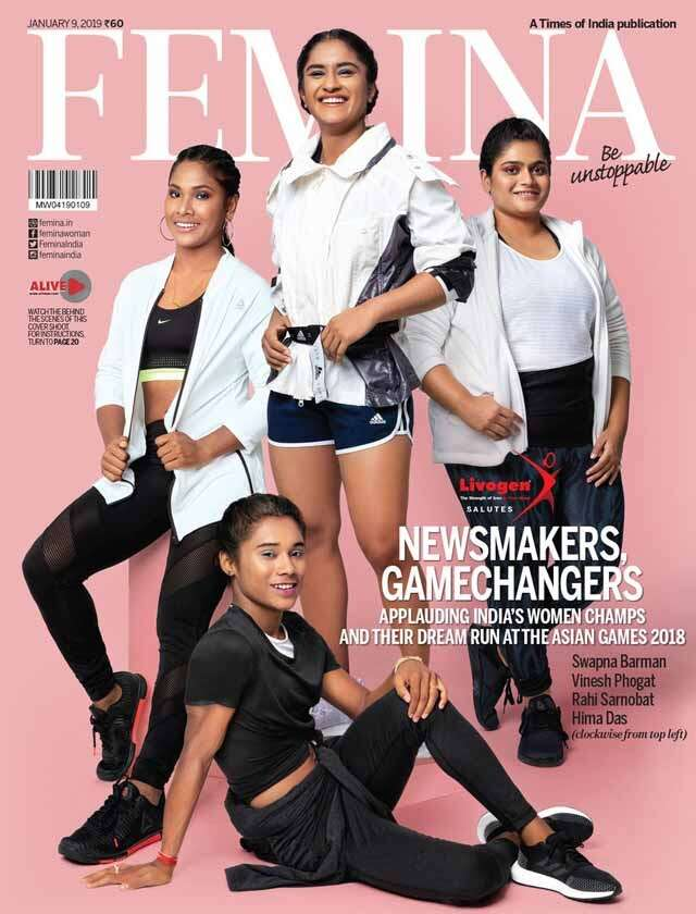 4 champs from asian games 2018 rule our latest cover femina in