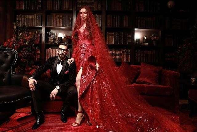 Deepika Padukone and Ranveer Singh's reception