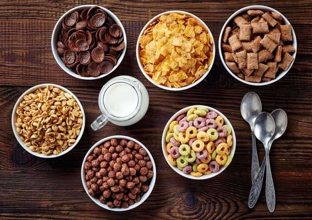 Foods rich in Vitamin B12 Cereal