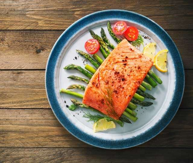 Foods rich in Vitamin B12 Salmon